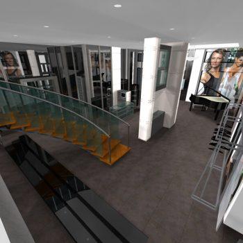Loja Augustus - Vista a partir da Sala de Direcá∆o