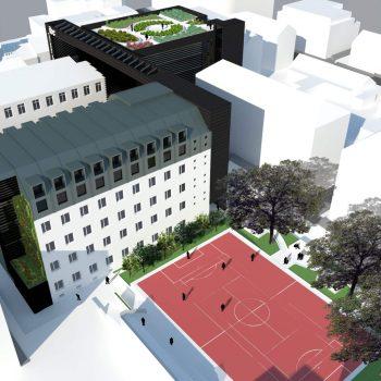Ampliação Escola Viena IBC