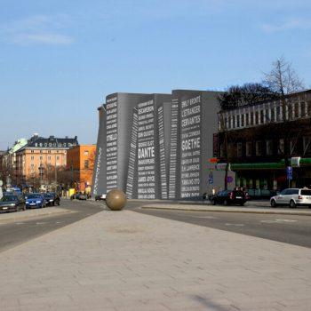 Biblioteca de Estocolmo Perspectiva Final A