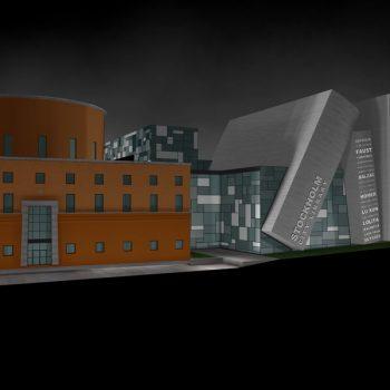 Biblioteca de Estocolmo Perspectiva Final C